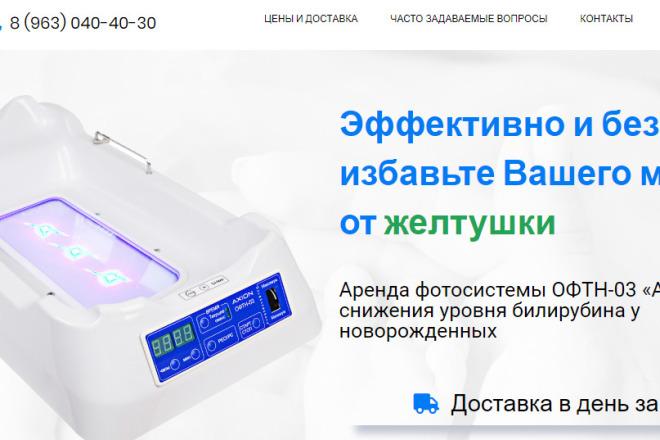 Создам лендинг на вордпресс быстро 2 - kwork.ru