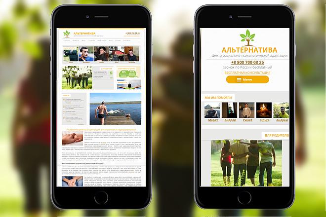 Адаптирую ваш сайт под мобильную версию 10 - kwork.ru