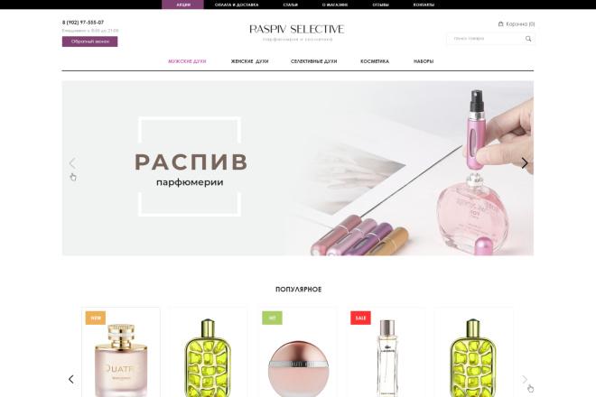 Дизайн страницы Landing Page - Профессионально 3 - kwork.ru