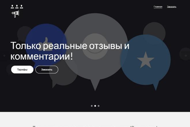 Скопирую Landing Page, Одностраничный сайт 12 - kwork.ru