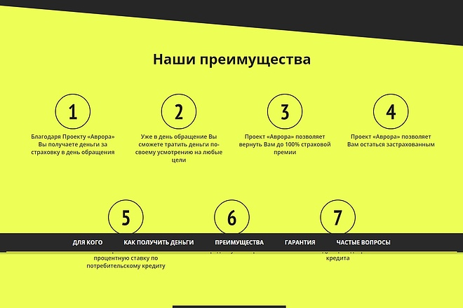Сайт под ключ. Landing Page. Backend 225 - kwork.ru