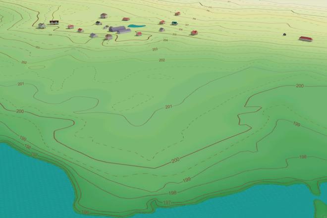 Выполню трехмерную модель местности 8 - kwork.ru