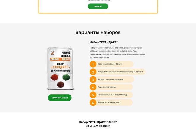 Создание современного лендинга на конструкторе Тильда 12 - kwork.ru