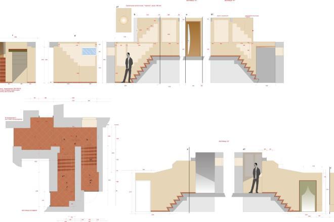 Планировка или пакет рабочих чертежей для проекта интерьера 9 - kwork.ru