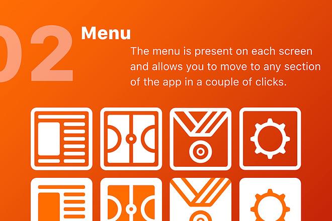 Дизайн мобильного приложения UI UX 2 - kwork.ru