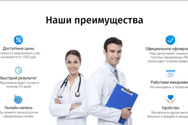 Создам копию сайта одностраничника - Landing Page 1 - kwork.ru