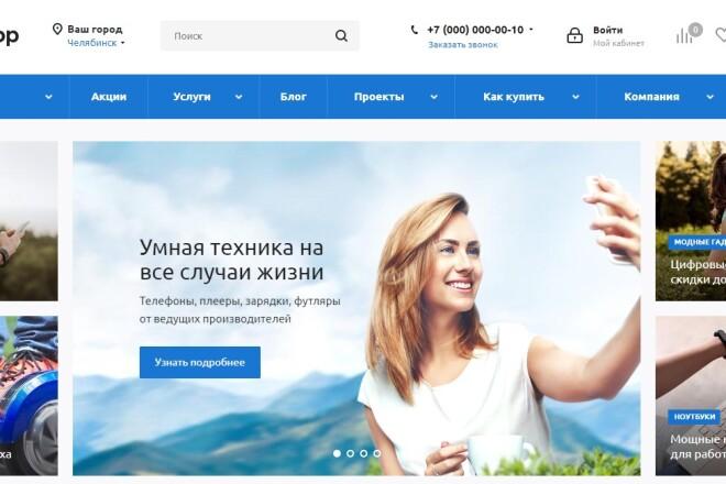 Интернет-магазин на 1С-Битрикс под ключ на готовом шаблоне 5 - kwork.ru