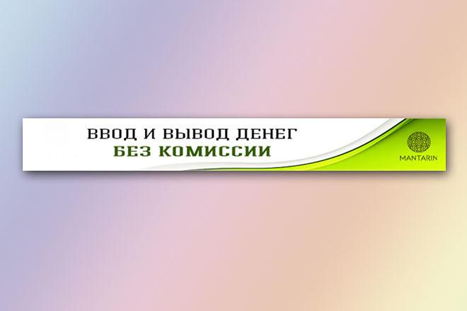 Сделаю баннер для сайта 30 - kwork.ru