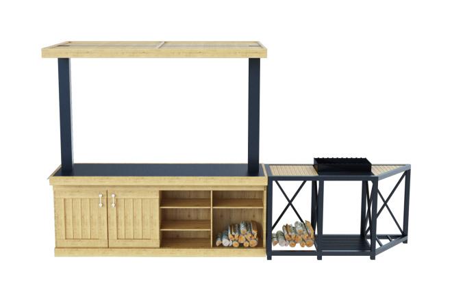 Моделирование мебели 14 - kwork.ru