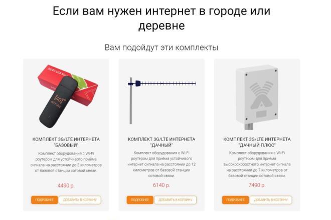 Создаю Лендинг на Тильде под ключ 13 - kwork.ru