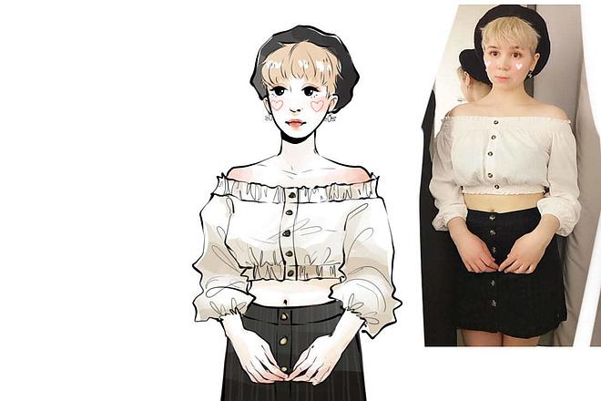 Fashion иллюстрация 5 - kwork.ru