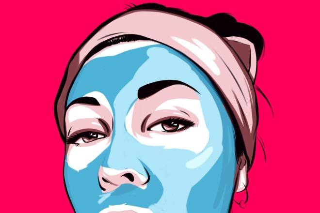 Нарисую портрет в стиле Pop Art,Comics Art, Stik Art 31 - kwork.ru