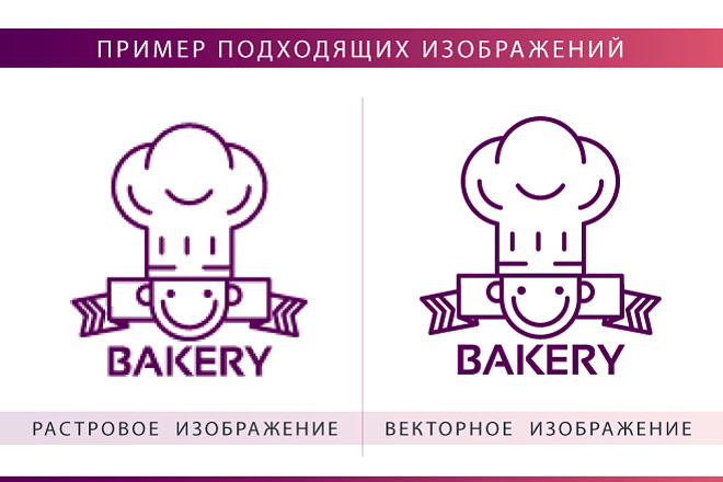 Вектор. Отрисовка в векторе простых эскизов, иконок, логотипов, растра 4 - kwork.ru