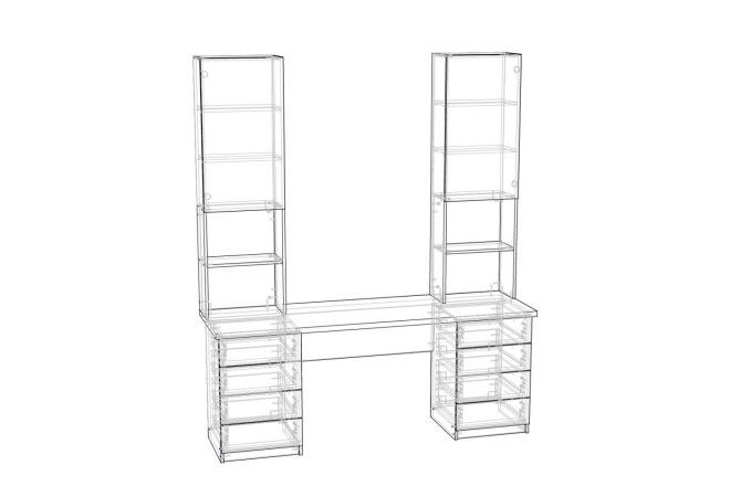 Конструкторская документация для изготовления мебели 144 - kwork.ru