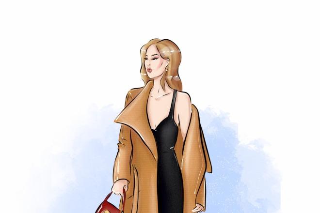 Создам fashion иллюстрацию 3 - kwork.ru