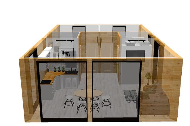 3d визуализация квартир и домов 94 - kwork.ru