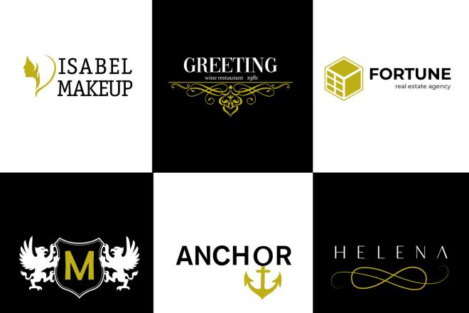 Разработаю фирменный логотип 1 - kwork.ru