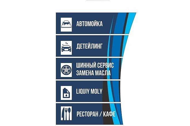 Дизайн для наружной рекламы 92 - kwork.ru