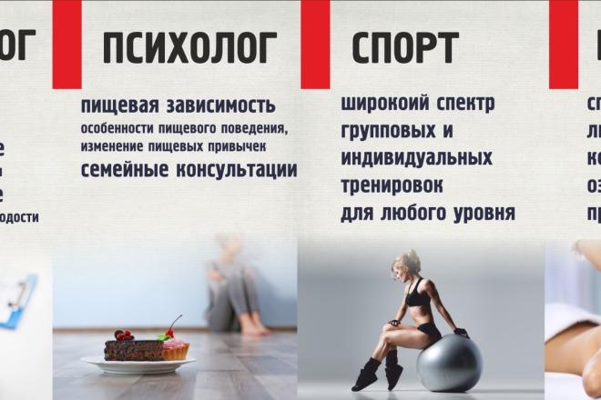 Разработаю макеты для наружной рекламы 10 - kwork.ru