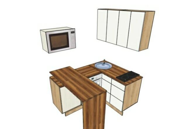 Дизайн интерьера. Консультация, план мебели, коллаж 3 - kwork.ru
