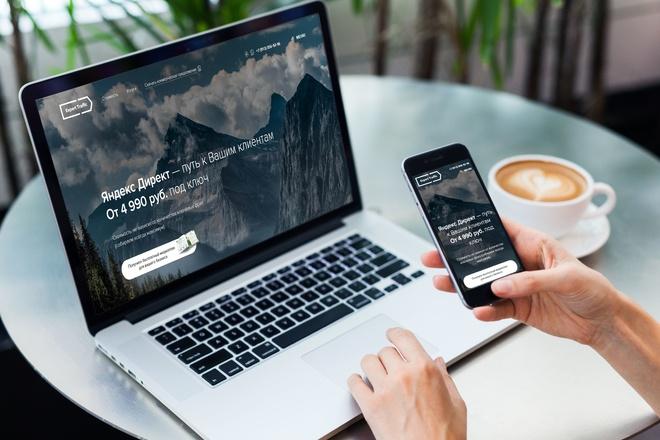Продающий Landing Page под ключ 14 - kwork.ru