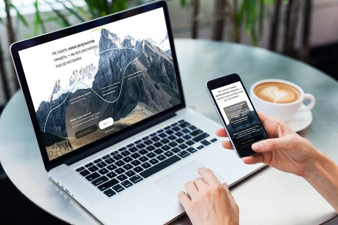 Продающий Landing Page под ключ 13 - kwork.ru