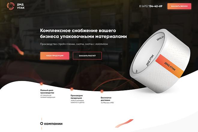 Продающий Landing Page под ключ 6 - kwork.ru