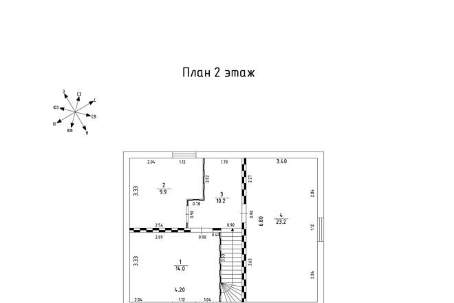 Оцифровка и создание чертежей в AutoCAD 3 - kwork.ru