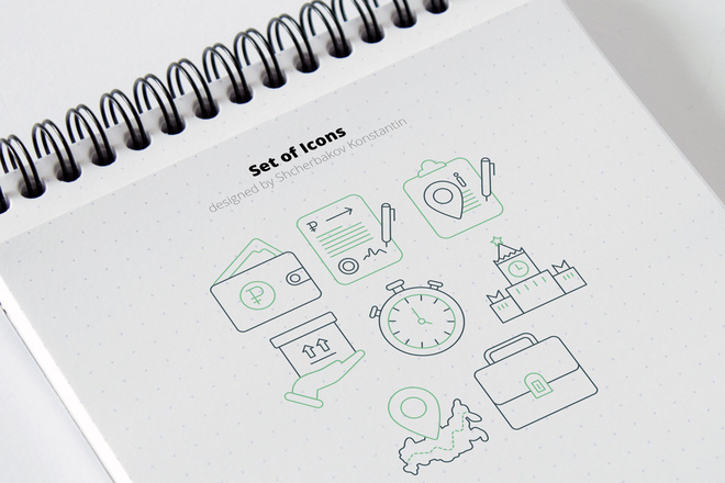 Разработка иконок 12 - kwork.ru