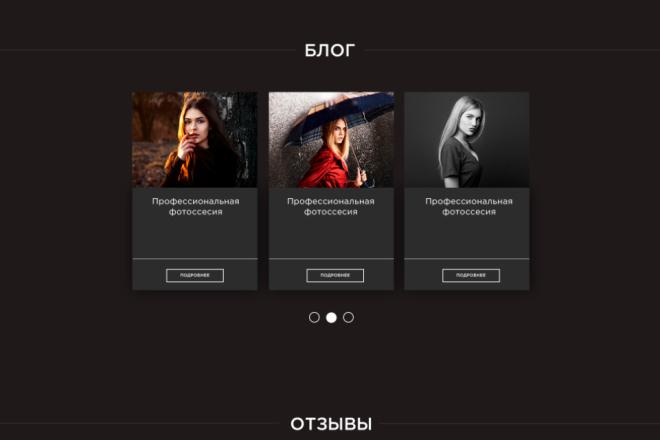 Вёрстка вашего сайта на чистом HTML и CSS 6 - kwork.ru