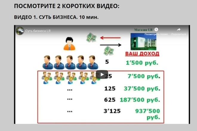 Скопировать Landing page, одностраничный сайт, посадочную страницу 87 - kwork.ru