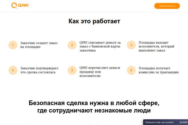 Скопирую страницу любой landing page с установкой панели управления 60 - kwork.ru