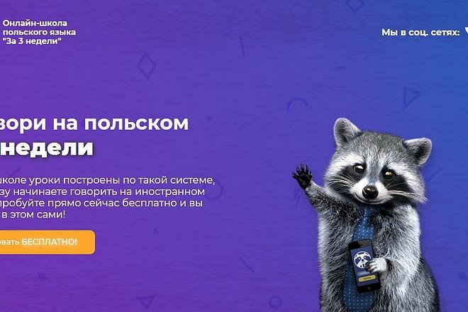 Landing Page с 0 + дизайн 38 - kwork.ru