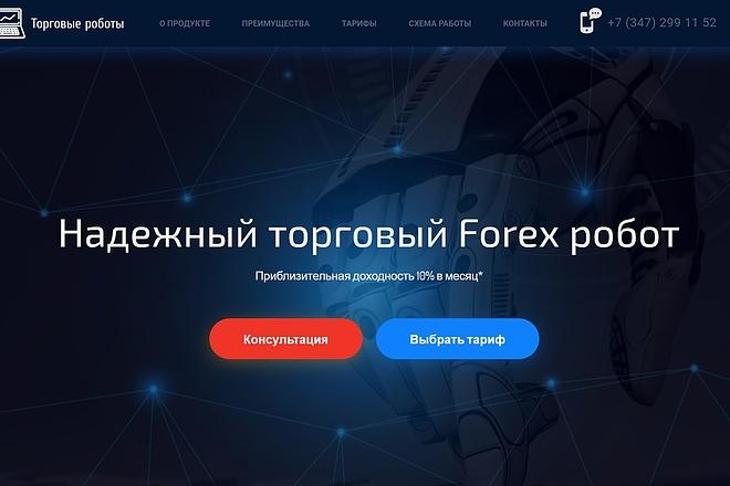 Продающий сайт - Лендинг под ключ, для любых целей 32 - kwork.ru