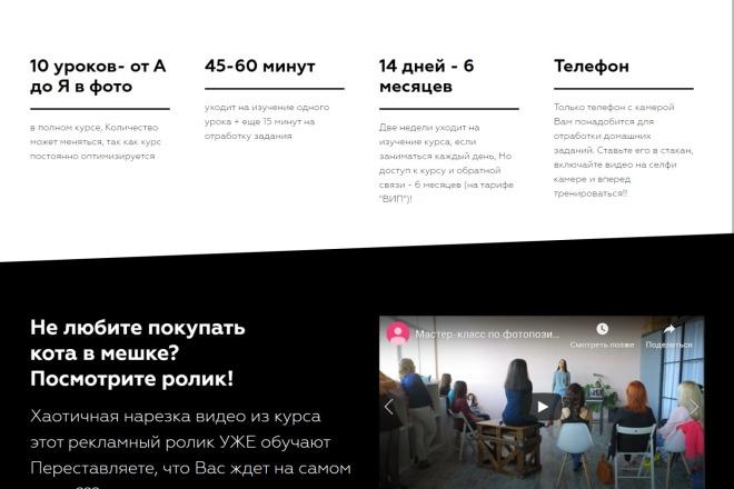 Качественная копия Landing Page на Tilda 11 - kwork.ru