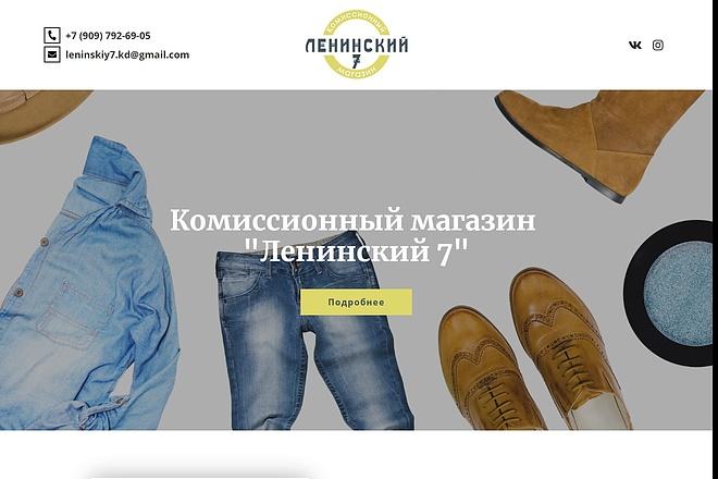 Сайт под ключ. Landing Page. Backend 157 - kwork.ru