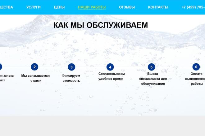 Создание сайта - Landing Page на Тильде 155 - kwork.ru