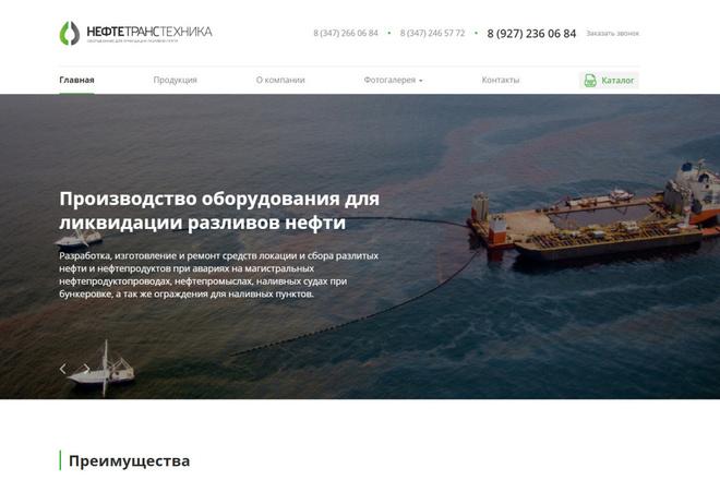 Скопирую почти любой сайт, landing page под ключ с админ панелью 8 - kwork.ru