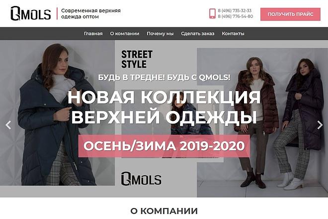 Сайт под ключ. Landing Page. Backend 182 - kwork.ru
