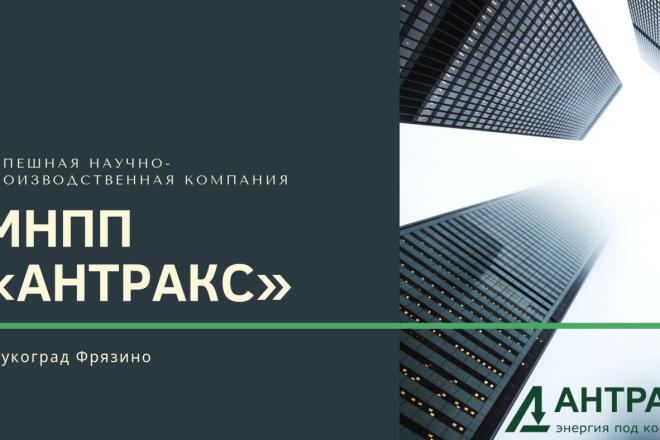 Стильный дизайн презентации 360 - kwork.ru