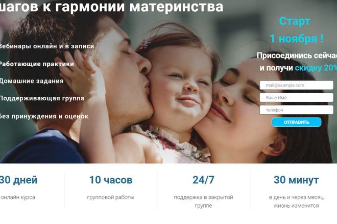 Создание сайтов на конструкторе сайтов WIX, nethouse 54 - kwork.ru