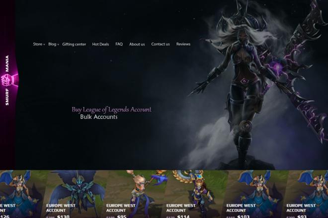 Дизайн страницы сайта в PSD 22 - kwork.ru