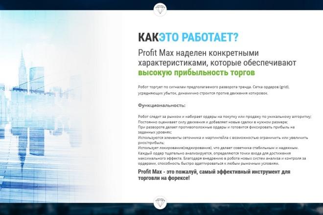 Дизайн продающего лендинга для компании 23 - kwork.ru