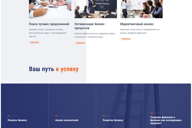 Адаптивный сайт на Wordpress под ключ 14 - kwork.ru