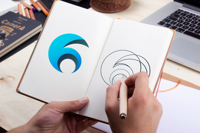 Уникальный логотип в нескольких вариантах + исходники в подарок 59 - kwork.ru