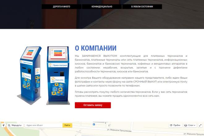 Сделаю продающий Лендинг для Вашего бизнеса 63 - kwork.ru
