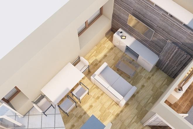 Создам планировку дома, квартиры с мебелью 56 - kwork.ru