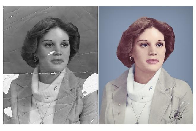 Реставрация фотографии 4 - kwork.ru