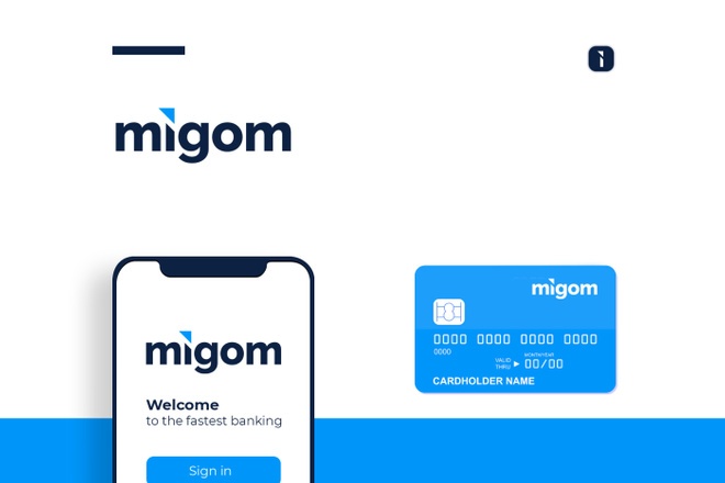 Разработка логотипа для сайта и бизнеса. Минимализм 52 - kwork.ru