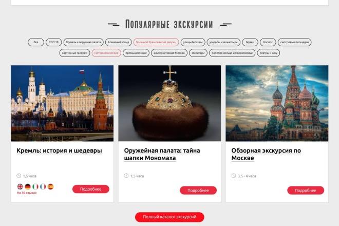 Вёрстка сайтов по доступной цене 48 - kwork.ru